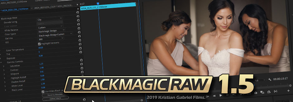Blackmagic Raw Available for Adobe Premiere!